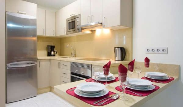Club Las Calas self catering kitchen apartment accommodation