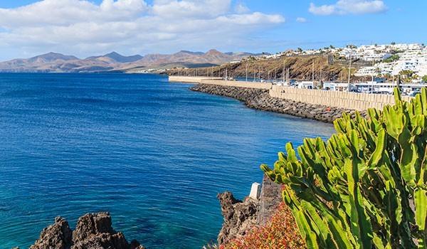 Puerto del Carmen marina