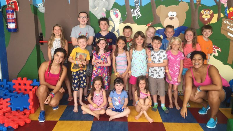 Club Las Calas kid's club group summer 2016 Lanzarote