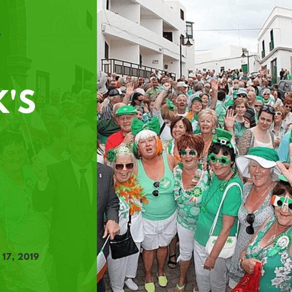 St Patricks Day in Puerto del Carmen
